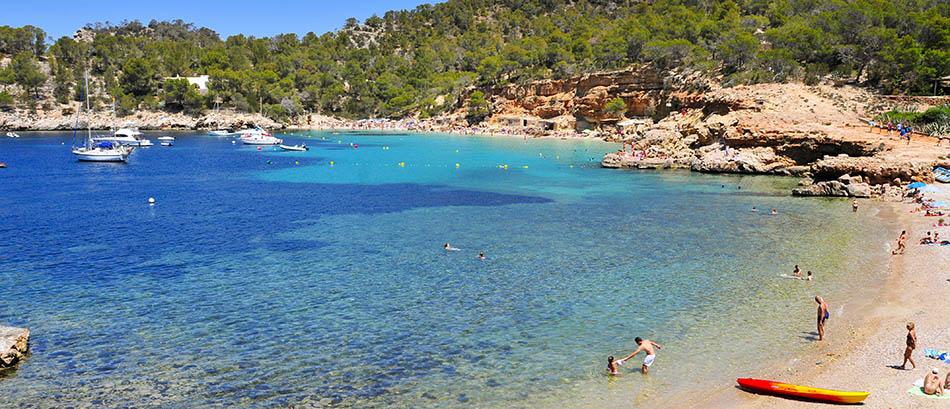 Cala Salada San Antonio, Ibiza, Spagna