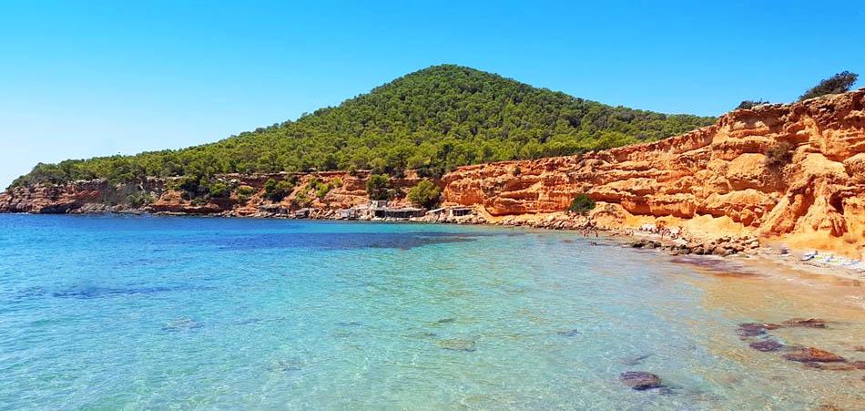 Playa Es Bol Nou Sa Caleta a Ibiza