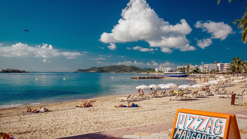 Spiaggia Figueretas Ibiza