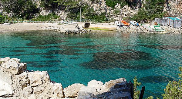 Spiaggia Port de Sant Miquel - La guida di Ibiza