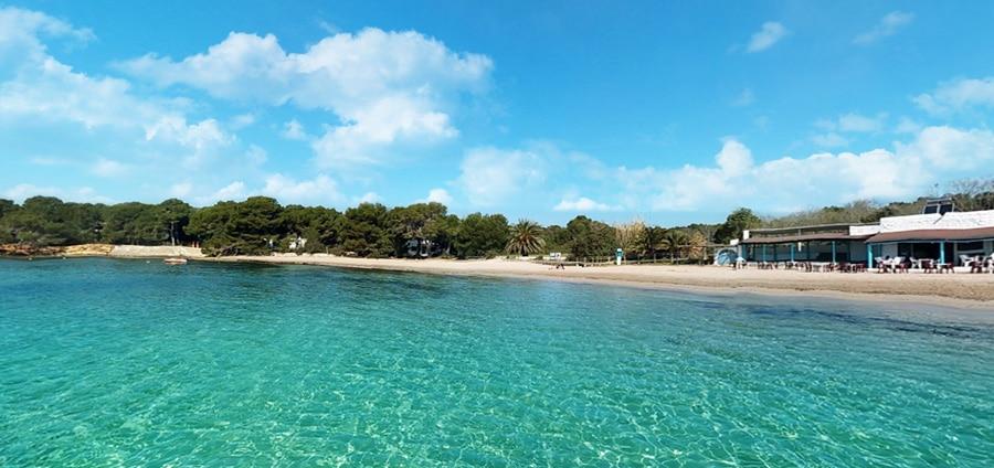 Spiaggia Cala Pada Ibiza