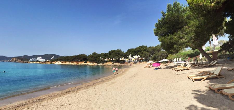 Spiaggia es niu blau Ibiza