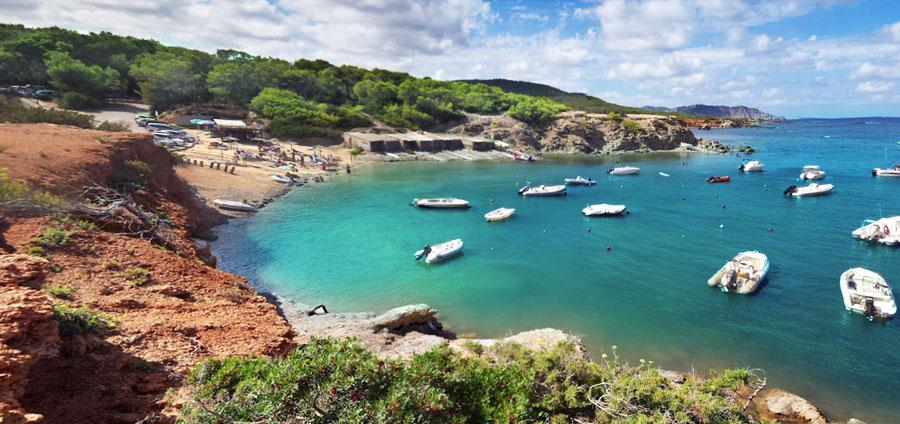Spiaggia Pou des Lleó Ibiza