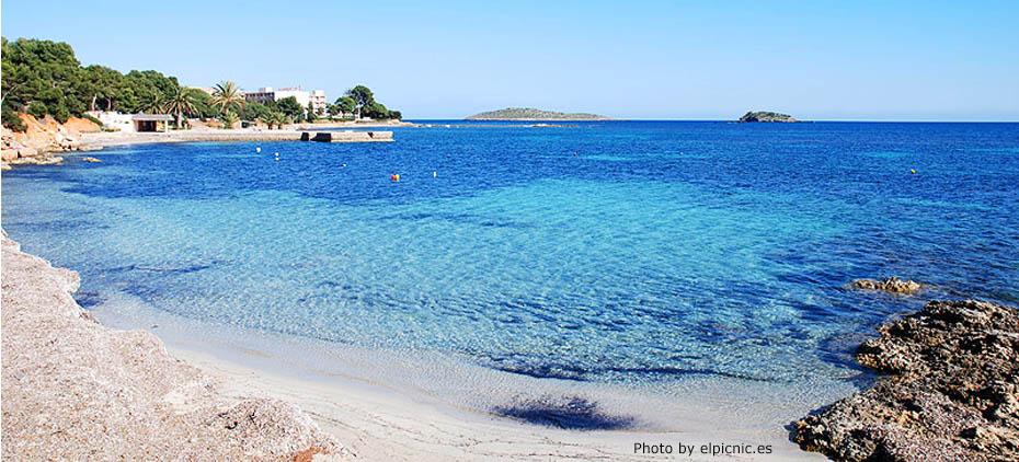 spiaggia s'argamassa Ibiza