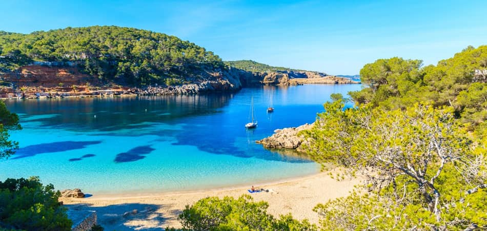 Spiagge San Antonio Ibiza - Cala Saladeta
