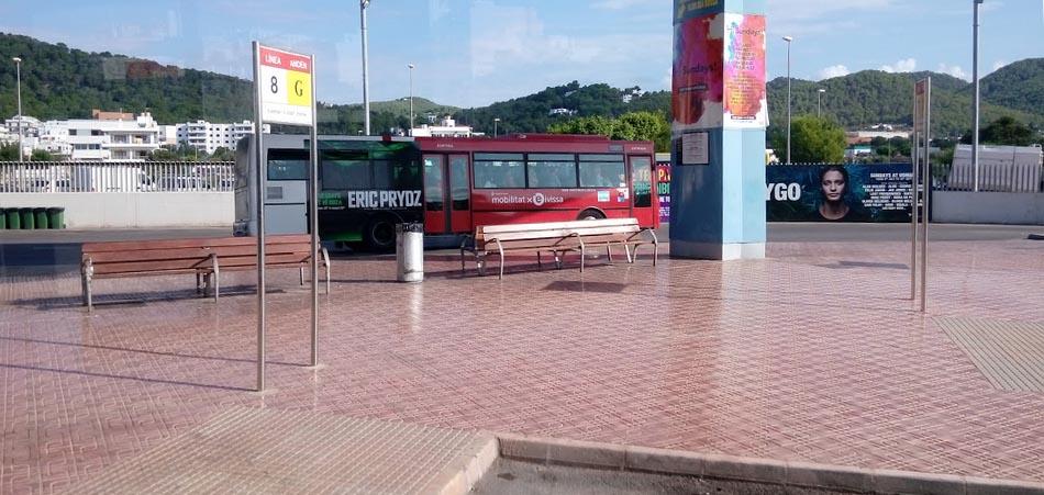 Trasporti San Antonio Ibiza - termial bus