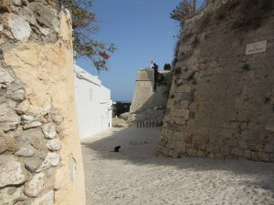 mura castello di Ibiza
