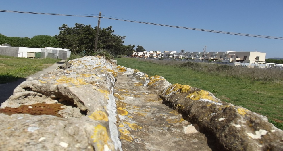 aquedotto romano di s'argamassa Ibiza