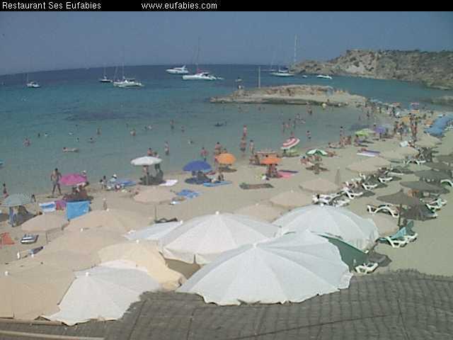 webcam-Cala-Tarida-Ibiza - My Hotels Ibiza