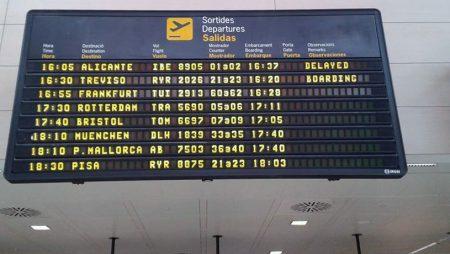 Ryainar: voli invernali a Ibiza