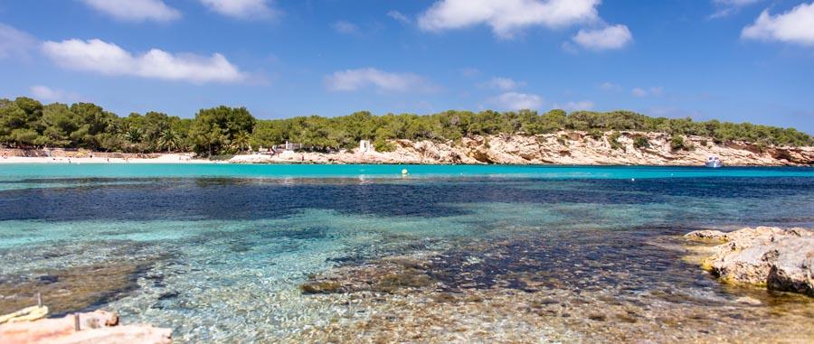 Cala Bassa  una delle spiagge piu belle di Ibiza