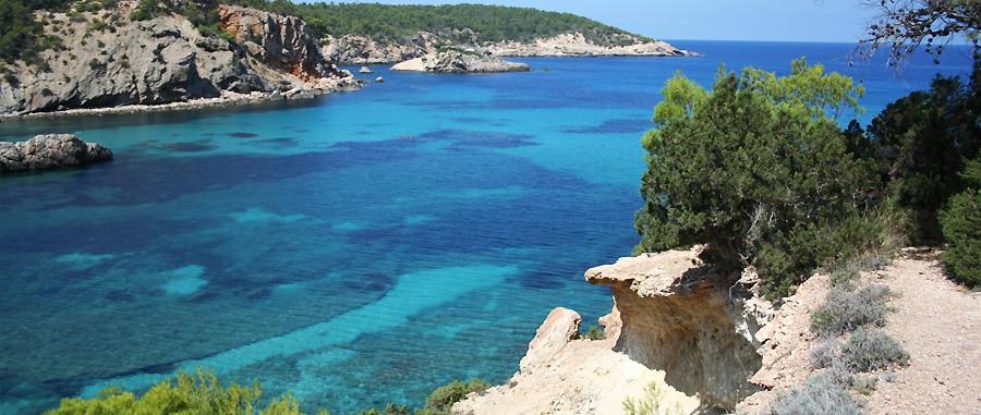 Cala Xarraca - Migliori spiagge di Ibiza