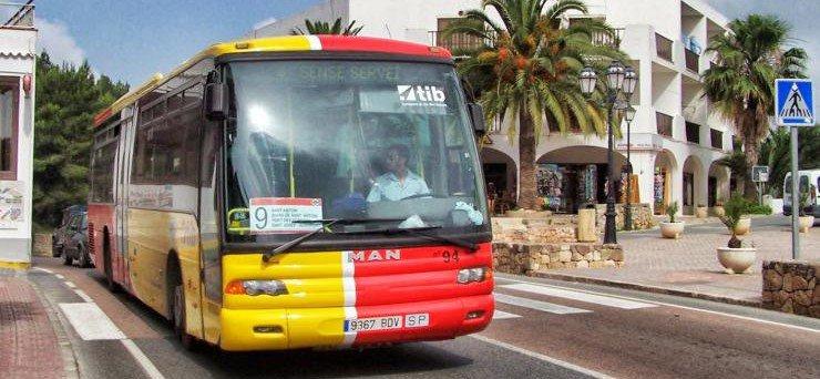 autobus ibiza