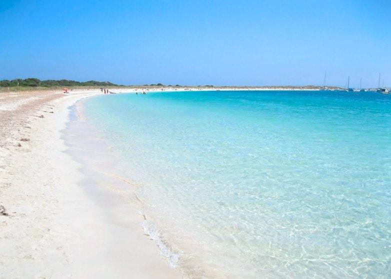 Playa de s'Alga Espalmador