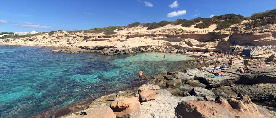 Caló d'es Morts Formentera