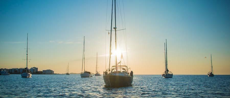 Un escursione in barca a Ibiza