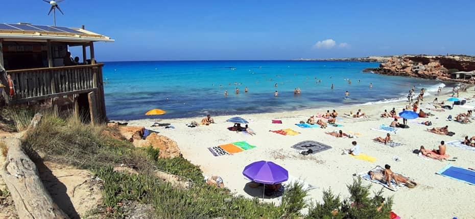 Cala Saona, la piu bella caletta di Formentera