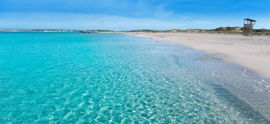 La selvaggia spiaggia di Playa de Llevant