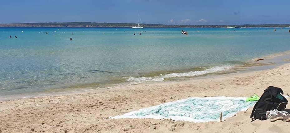 Es Arenals di Formentera