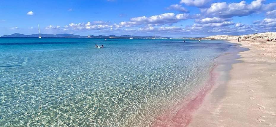 Playa Ses Illetes la spiaggia più bella di Formentera