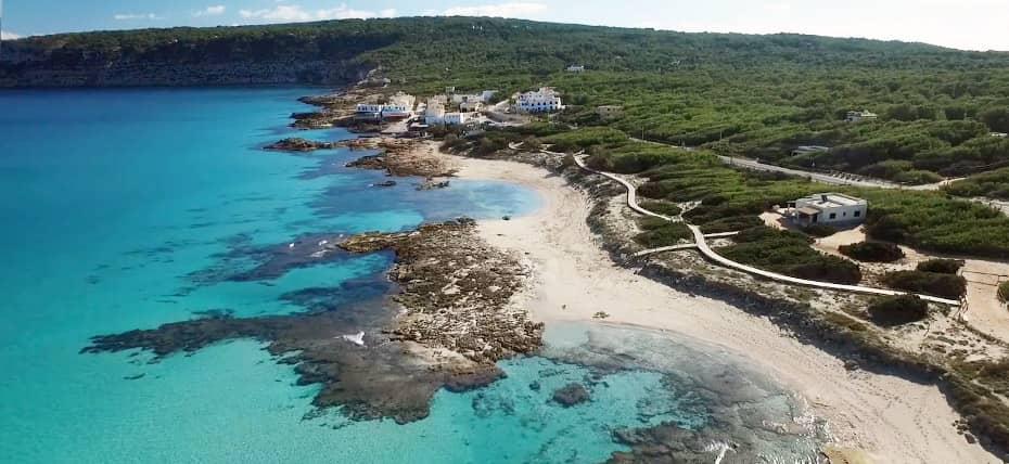 Le spiagge di Ses Platgetes e Es Calò