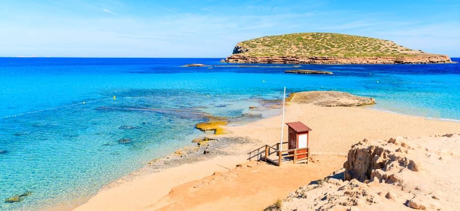 Spiaggia di Cala Comte a Ibiza